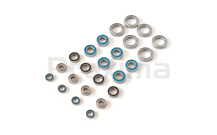 Xray 808E Ball Bearings Set - 24 pcs